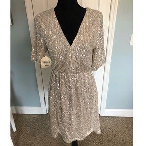 Altar'd State Sequin Dress Size M